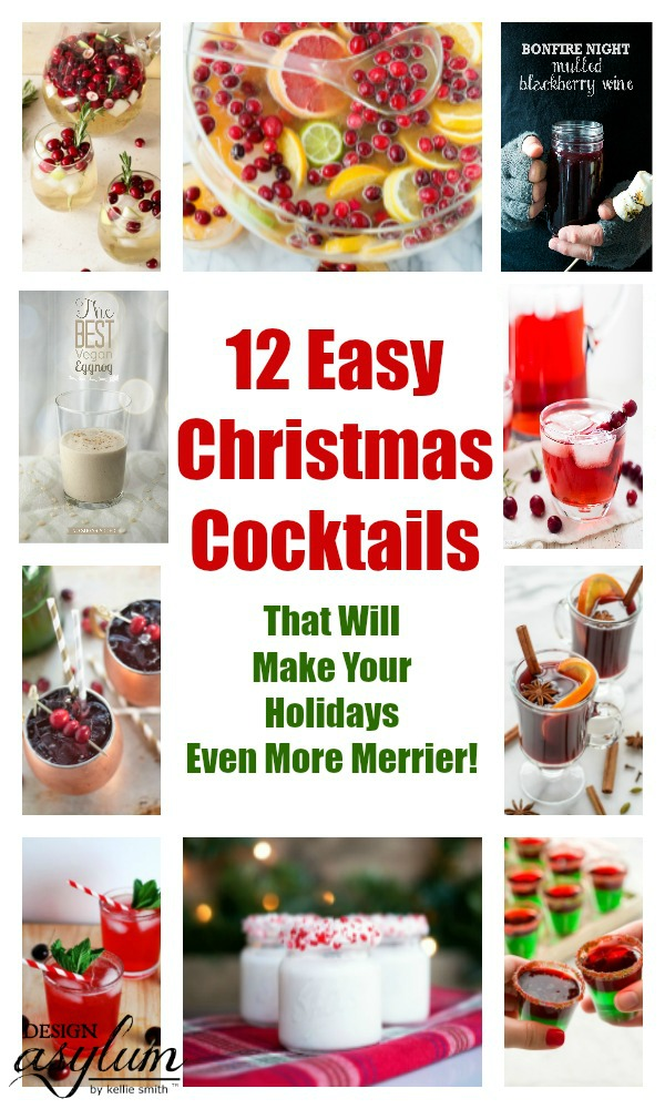 12 Easy Christmas Cocktails That Will Make Your Holidays