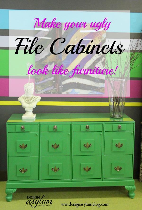 Design Asylum Blog   DIY File Cabinet Makeover