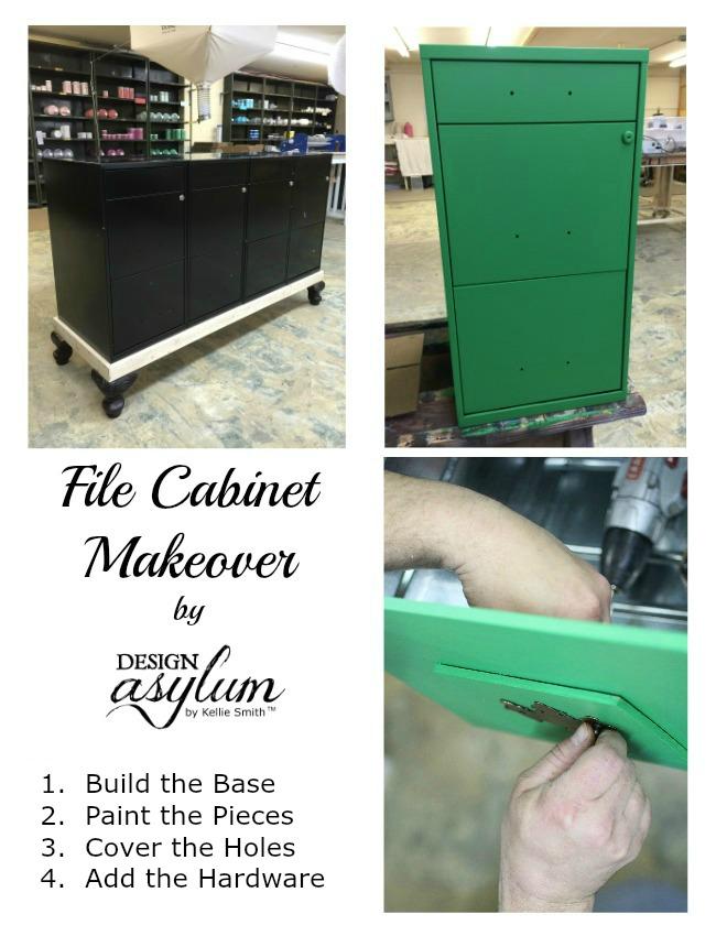 Design Asylum Blog | DIY: File Cabinet Makeover