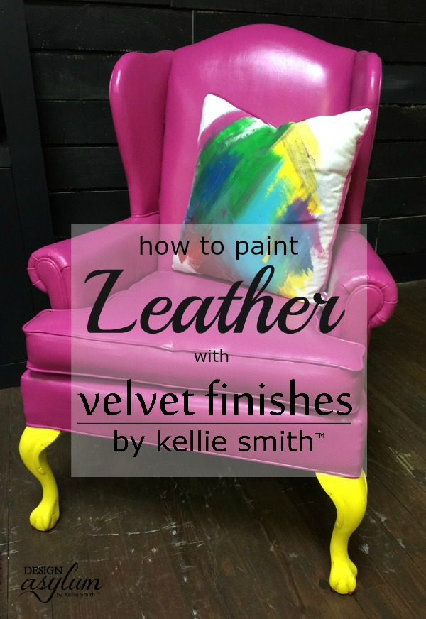 How to Paint Leather | Design Asylum Blog