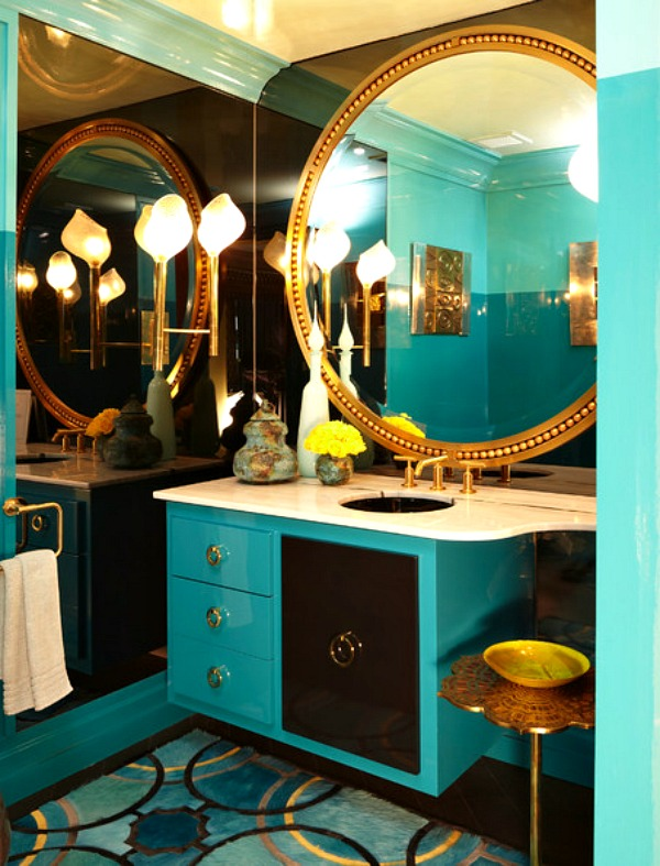 Check out these gorgeous spaces that bring turquoise to life!
