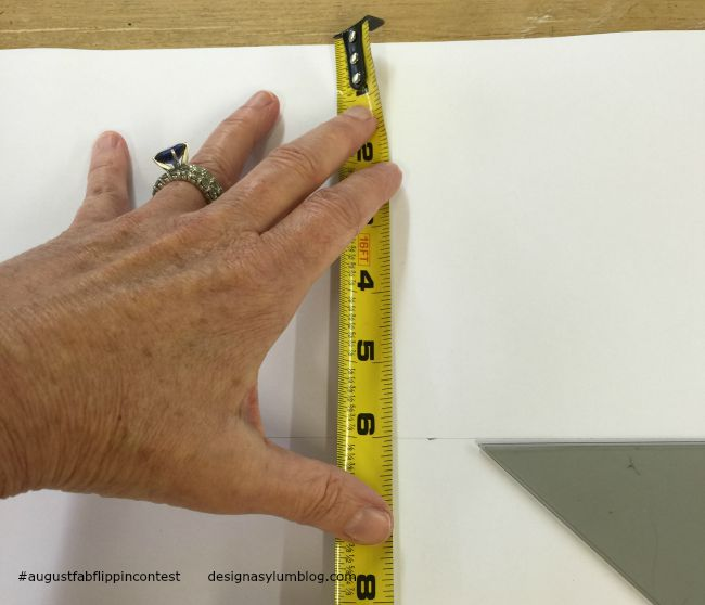 How to decopuage furniture is included in the August Fab Furniture Flippin' contest featuring D. Lawless Hardware! You won't believe how easy this project was!