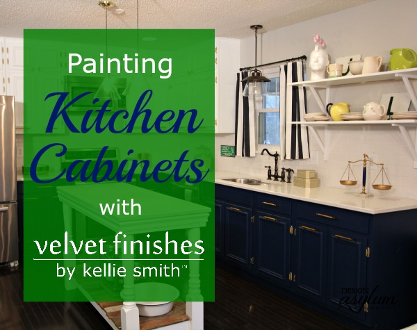 Attractive Thinking About Painting Your Kitchen Cabinets? Velvet Finishes 1 2 3 Step  Process