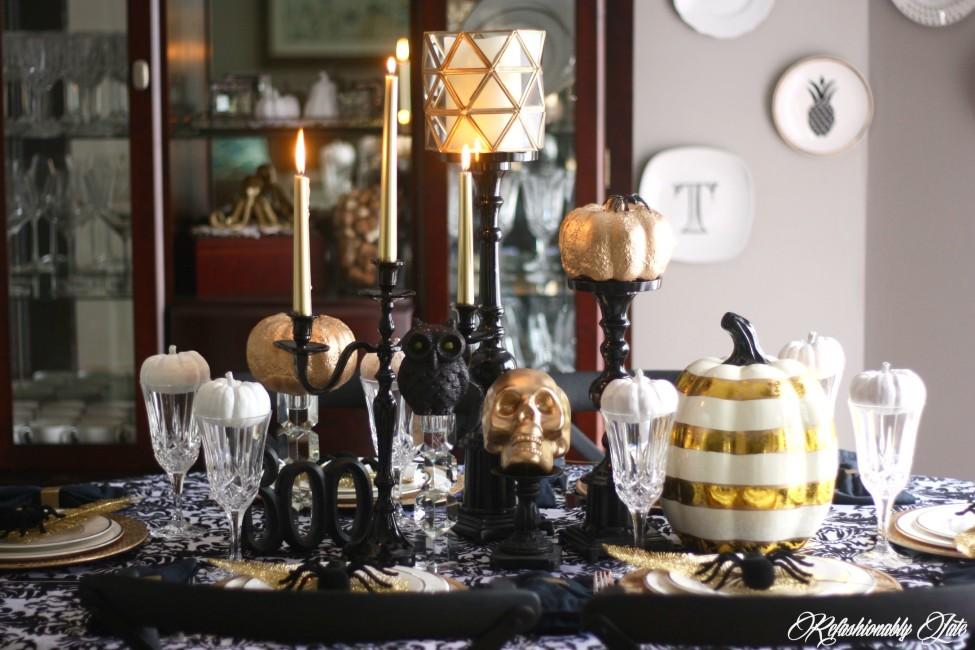 Halloween Dinner Table Setting.13 Spooky Halloween Table Settings Design Asylum Blog By
