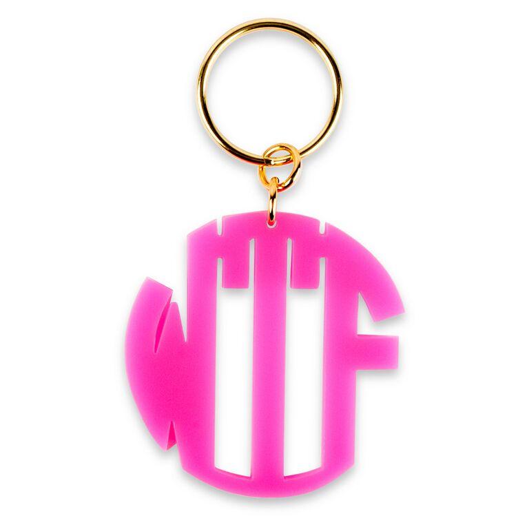 wtf keychain