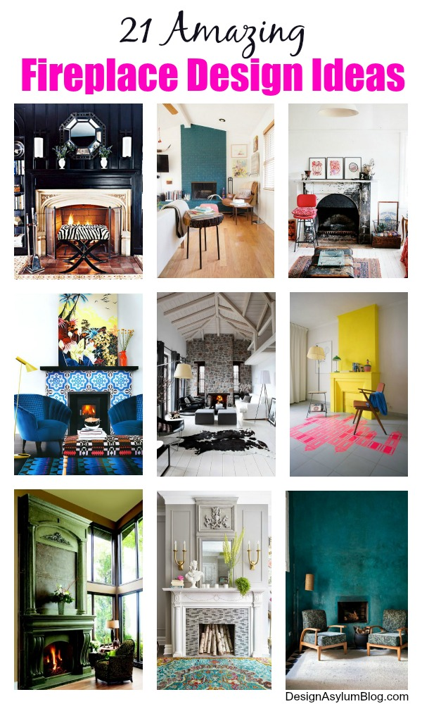 Take a look at these 21 Amazing Fireplace Design Ideas from designasylum.com - there are styles here for everyone!