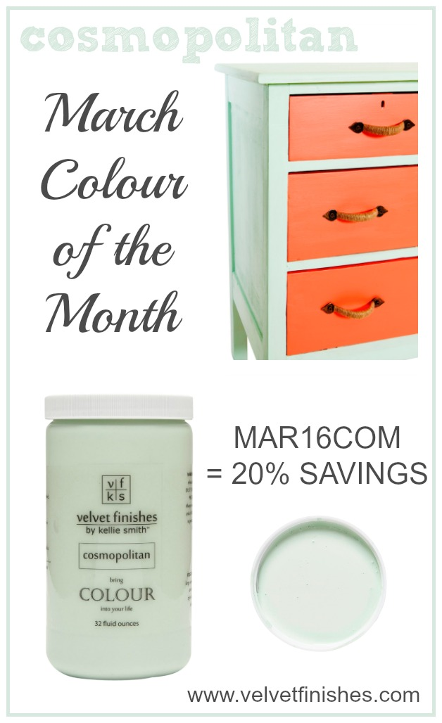 Paint it Cosmopolitan with Velvet Finishes Colour of the Month. Receive 20% savings at checkout. Cosmopolitan paint it and color in design inspirations here.