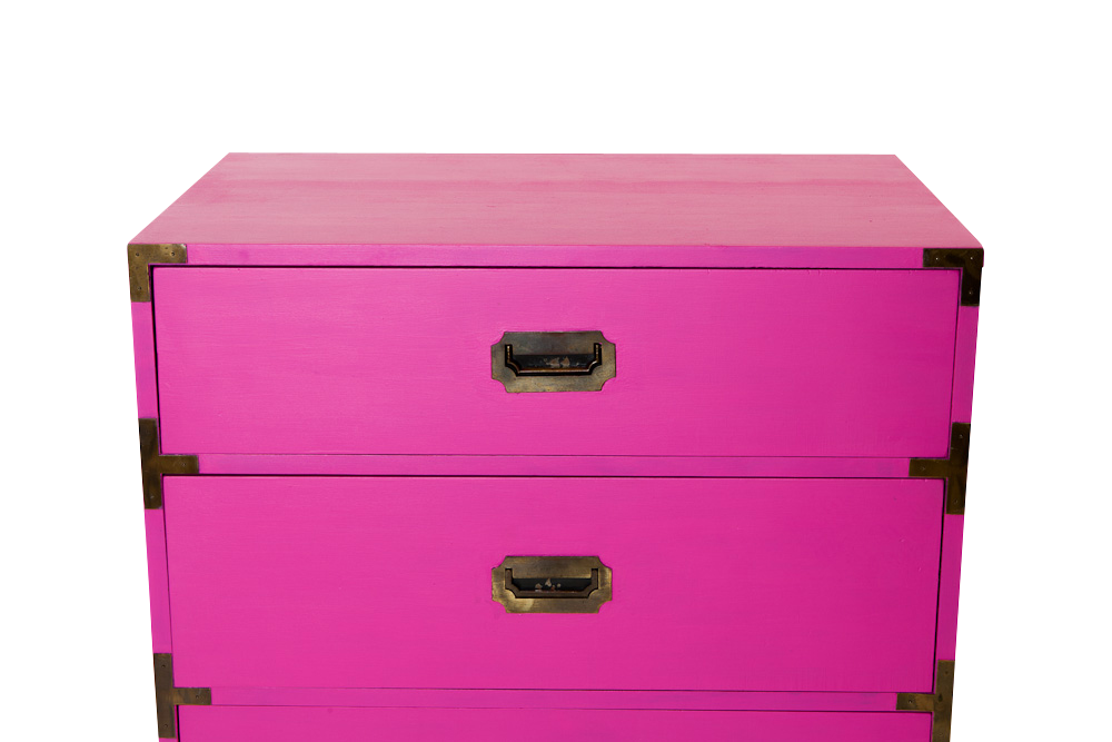 Fall in Love with Velvet Finishes: Red & Pink Furniture Makeovers